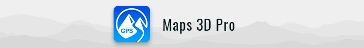 Maps 3D Pro app logo
