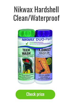 Nikwax Hardshell Clean/Waterproof