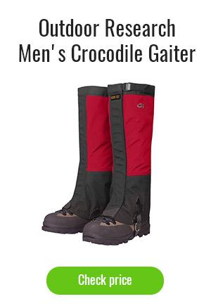 Outdoor Research Men's Crocodile Gaiters
