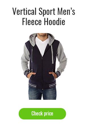 Vertical Sport Men's Fleece Hoodie