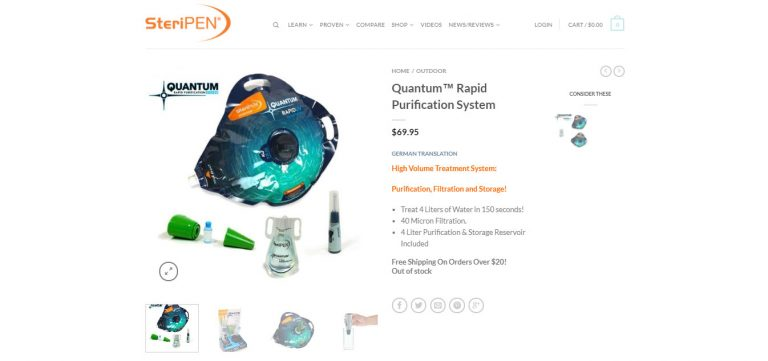 Quantum™ Rapid Purification System