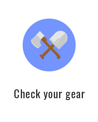 Check your gear