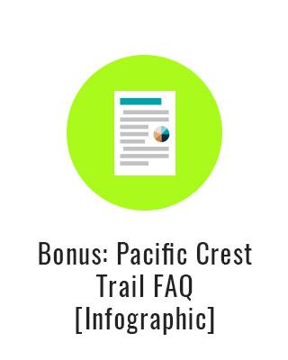 Pacific Crest Trail FAQ [Infographic]