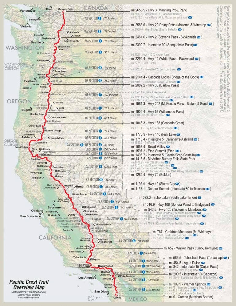 725fe251 Pacific Crest Trail 101: How to Hike 2,650 Miles and Survive